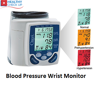 Featured Blood Pressure Wrist Monitor Ozeri BP2M