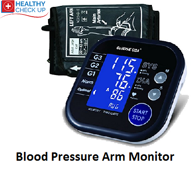 Blood Pressure Upper Arm Monitor Go Wise USA