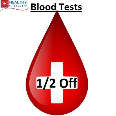 Half Price Blood Test Online When You Buy Two Or More