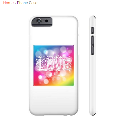 A Unique Gift Idea With Love On A Phone Case
