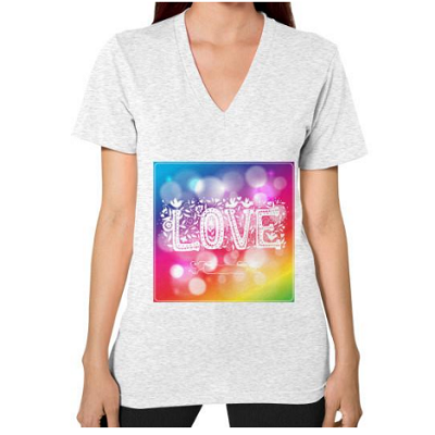 A Unique Gift Idea With Love On A T-Shirt