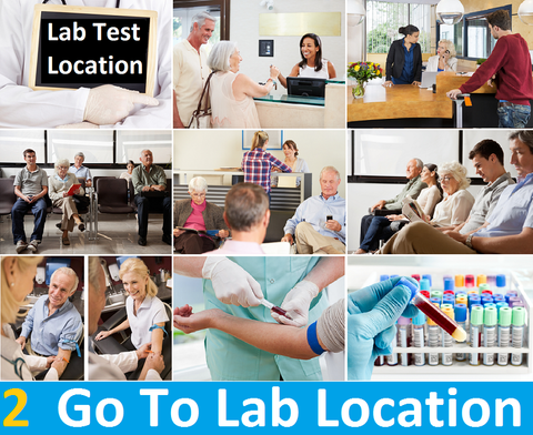 Go To Your Nearest Lab Location
