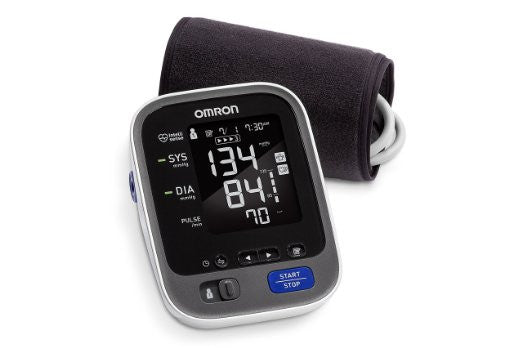 Blood Pressure Monitor Omron 10 Wireless Display To Your Phone