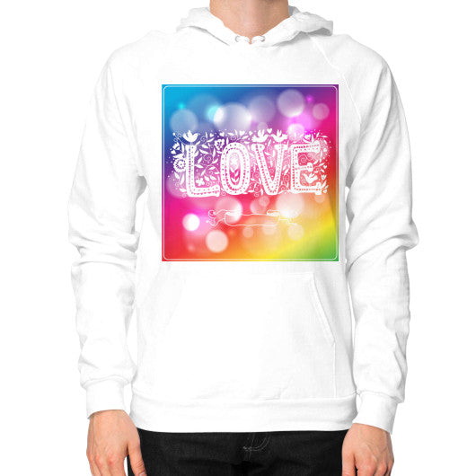 Hoodie (on man) White - Healthcare Blood Test Store