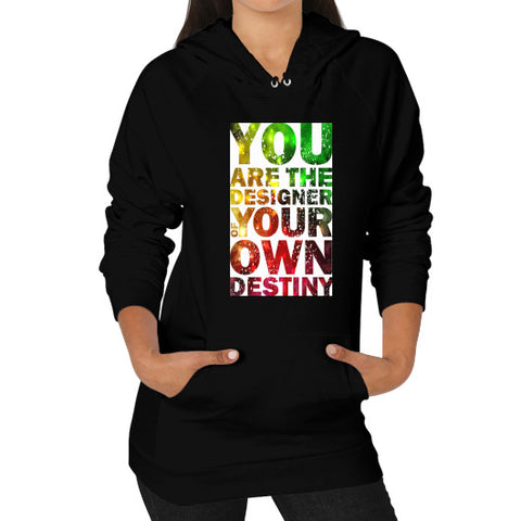 Hoodie (on woman) Black - Healthcare Blood Test Store