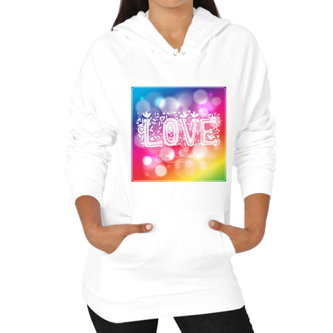 Hoodie (on woman) White - Healthcare Blood Test Store