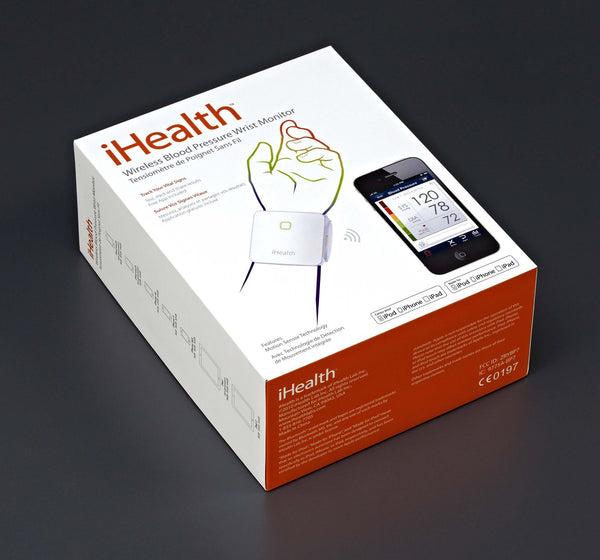 iPhone and Android Blood Pressure Wrist Monitor
