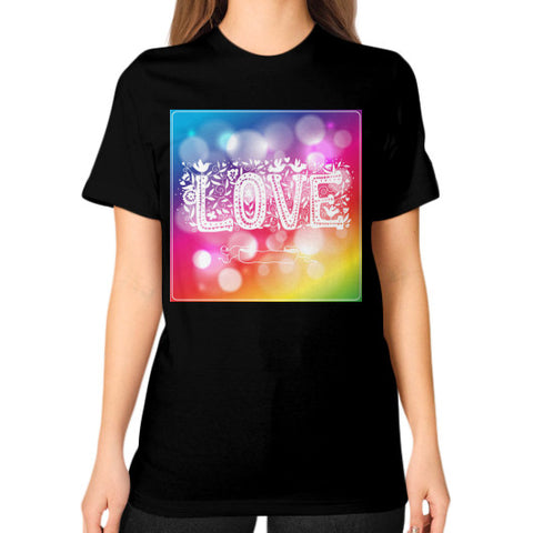 Unisex T-Shirt (on woman) Black - Healthcare Blood Test Store