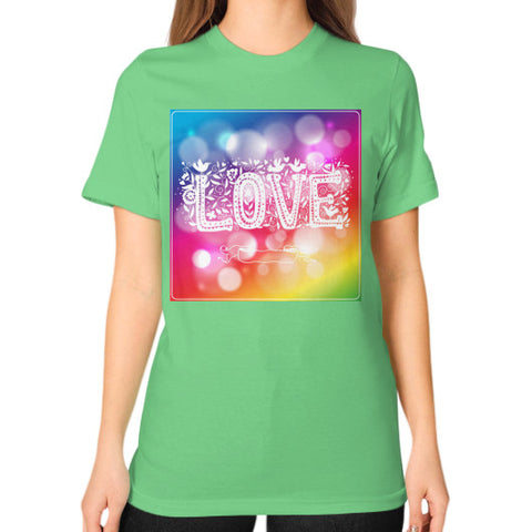Unisex T-Shirt (on woman) Grass - Healthcare Blood Test Store