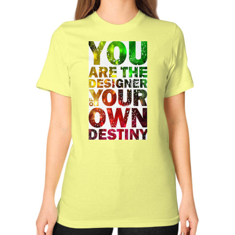 Unisex T-Shirt (on woman) Lemon - Healthcare Blood Test Store