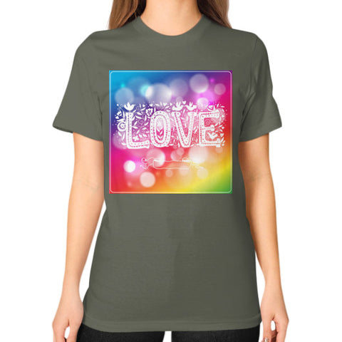 Unisex T-Shirt (on woman) Lieutenant - Healthcare Blood Test Store