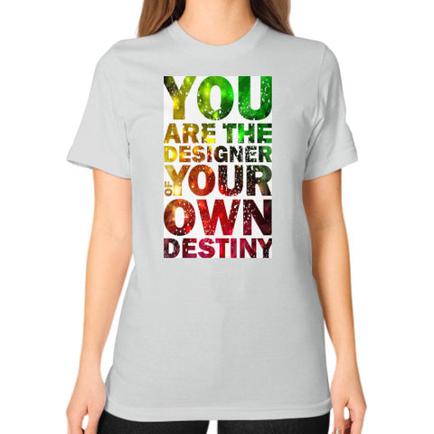 Unisex T-Shirt (on woman) Silver - Healthcare Blood Test Store