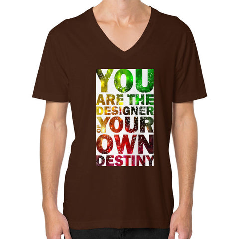 V-Neck (on man) Brown - Healthcare Blood Test Store