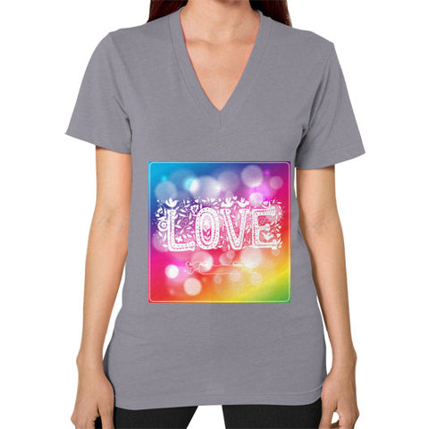 V-Neck (on woman) Slate - Healthcare Blood Test Store