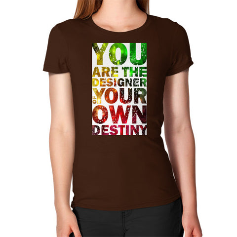 Women's T-Shirt Brown - Healthcare Blood Test Store