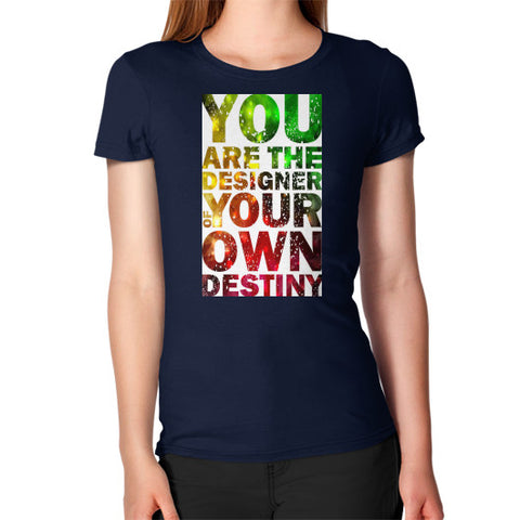 Women's T-Shirt Navy - Healthcare Blood Test Store