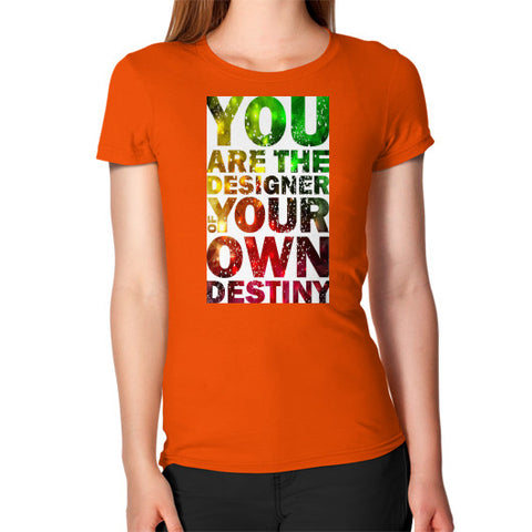 Women's T-Shirt Orange - Healthcare Blood Test Store