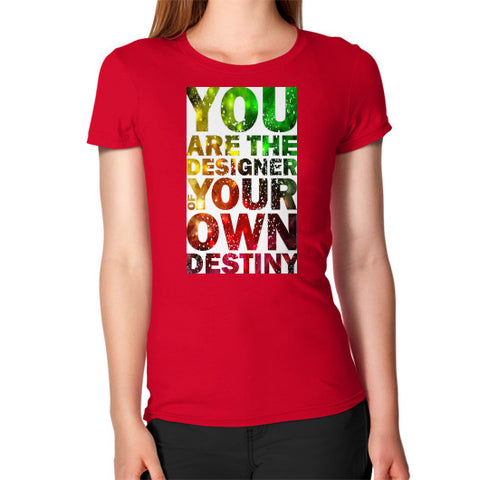 Women's T-Shirt Red - Healthcare Blood Test Store