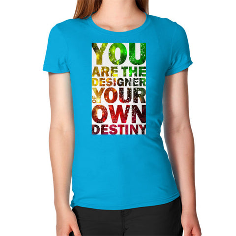 Women's T-Shirt Teal - Healthcare Blood Test Store