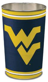 "West Virginia Mountaineers 15"" Waste Basket"