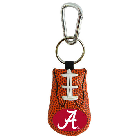 Alabama Crimson Tide A Logo Classic Football Keychain