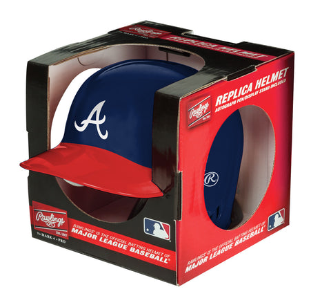 Atlanta Braves Batting Helmet Replica Mini