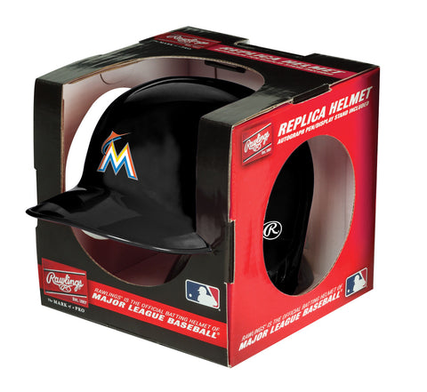 Miami Marlins Batting Helmet Replica Mini