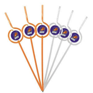 Phoenix Suns Team Sipper Straws