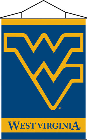 West Virginia Mountaineers Banner 28x40 Premium