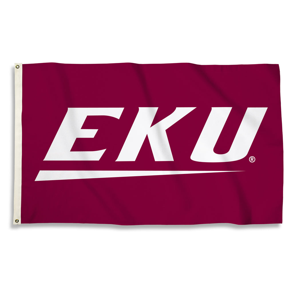 NCAA Officially licensed products Eastern Kentucky Colonels 3 Ft. X 5 Ft. Flag W/Grommets Show everyone that you are a die-h