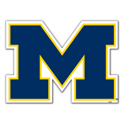 "Michigan Wolverines 12"" Car Magnet"