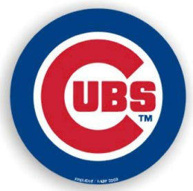 "Chicago Cubs 12"" Car Magnet"