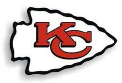 "Kansas City Chiefs 12"" Right Logo Car Magnet"