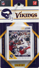 Minnesota Vikings 2011 Score Team Set