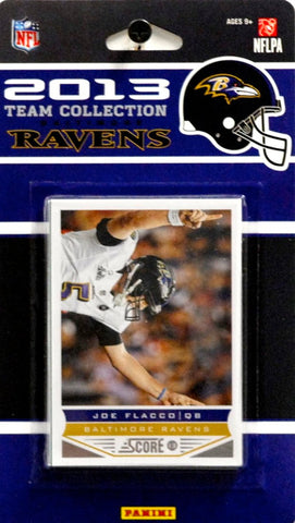 Baltimore Ravens 2013 Score Team Set