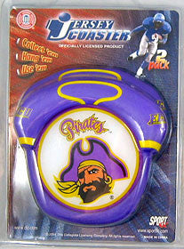 East Carolina Pirates Jersey Coaster Set