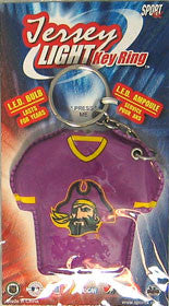 East Carolina Pirates Keychain - Jersey Keylight
