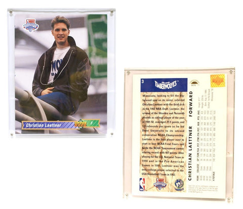 "Minnesota Timberwolves Christian Laettner 8""x10"" Upper Deck Blow-Up Card with Acrylic Display"