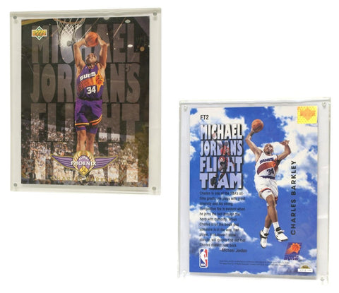 "Phoenix Suns Charles Barkley 93/94 8""x10"" Upper Deck Blow-Up Card with Acrylic Display"