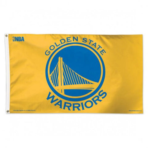 Golden State Warriors Deluxe 3x5 Flag