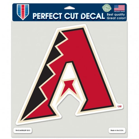 Arizona Diamondbacks Decal 8x8 Die Cut Color