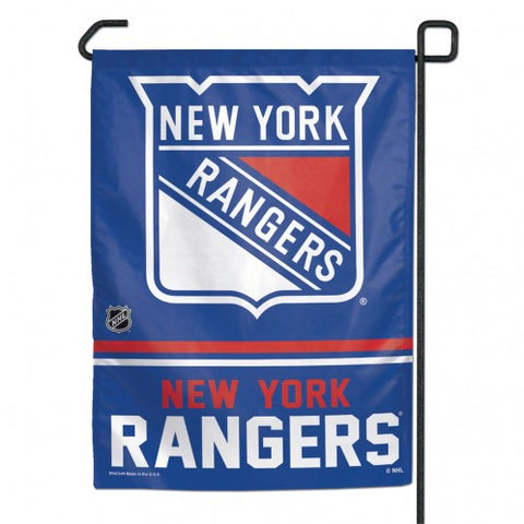 New York Rangers Garden Flag 11x15