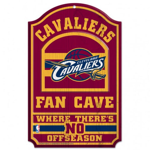 Cleveland Cavaliers 11x17 Wood Sign - Fan Cave