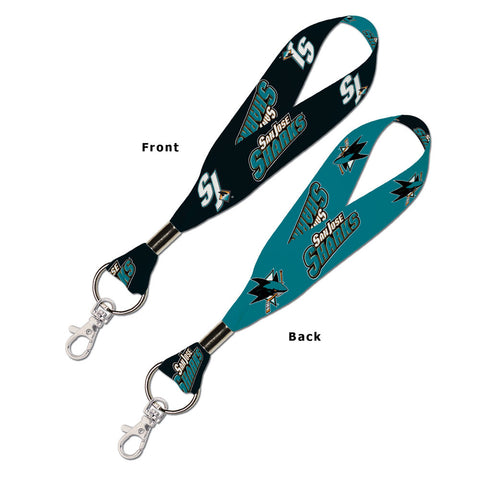 "San Jose Sharks 1"" Key Strap"