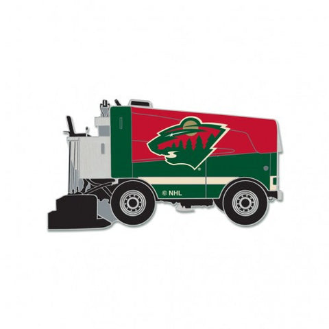 Minnesota Wild Collector Pin Jewelry Card - Zamboni