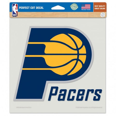 Indiana Pacers Decal 8x8 Die Cut Color
