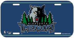 Minnesota Timberwolves License Plate