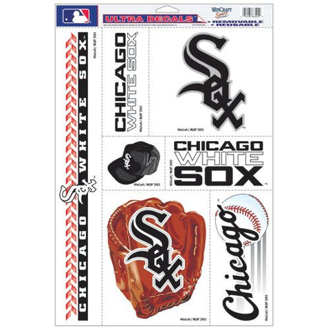 "Chicago White Sox 11""x17"" Ultra Decal Set"