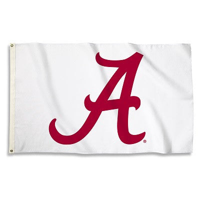 NCAA Officially licensed products Alabama Crimson Tide 3 Ft. X 5 Ft. Flag W/Grommets Show everyone that you are a die-hard f