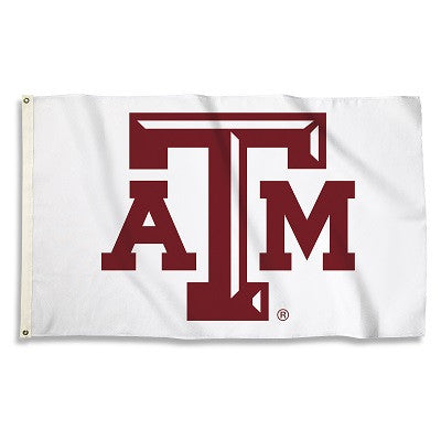 NCAA Officially licensed products Texas A&M Aggies 3 Ft. X 5 Ft. Flag W/Grommets Show everyone that you are a die-hard fan b